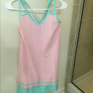 Lauren James cotton dress NWT